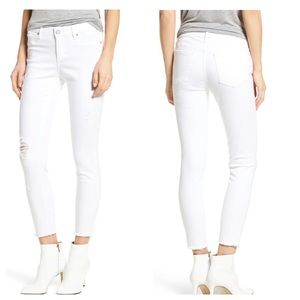 Articles of Society Carly Distressed Skinny Pants